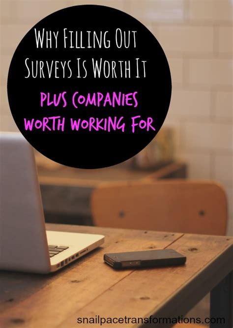 Fill Out A Survey - the one reason why i think survey companies are worth it