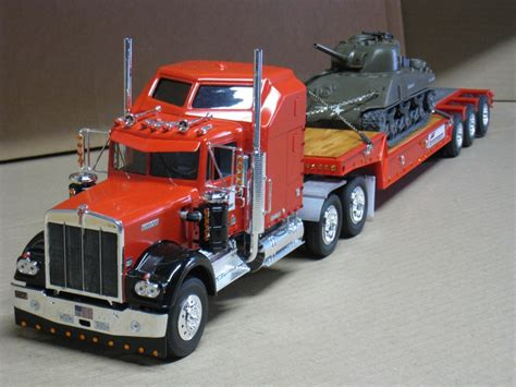 model kenworth trucks kenworth w900 plastic model truck kit 1 25 scale by revell