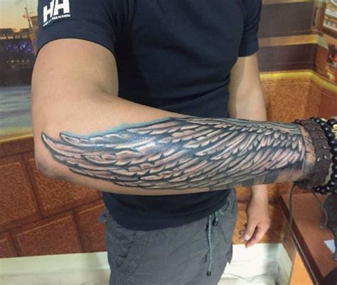 wing tattoo on forearm forearm wing designs ideas and meaning tattoos