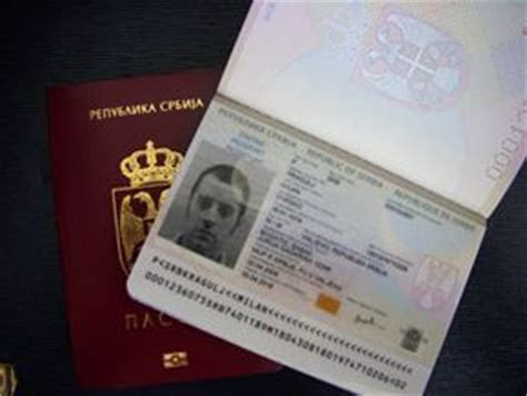 Sul Passport Dove Bening Clear And Dove Passport Cover passaporto serbo