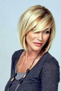 swing bob with side swept bangs short blonde bob hairstyles 2015 hair styles pinterest