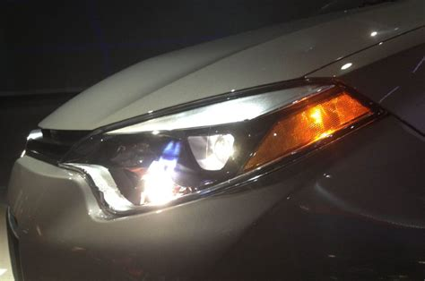 toyota corolla introduction led headlight photo  automotivecom