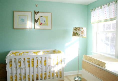 quarto de beb 234 verde moderno e despojado