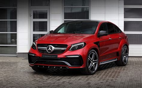 cars mercedes red 2016 topcar mercedes benz gle inferno red wallpaper hd