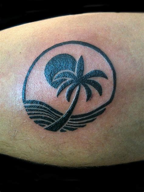 palm tree ankle tattoo tree tattoos designs ideas and meaning tattoos for you