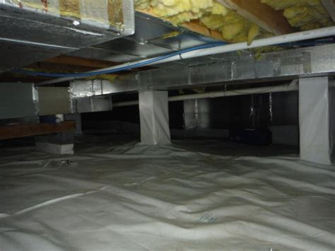 crawl space vapor cleanspace crawl space vapor barrier system