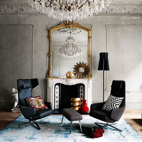 living room mirrors uk living room with mirror and chandelier decorating housetohome co uk