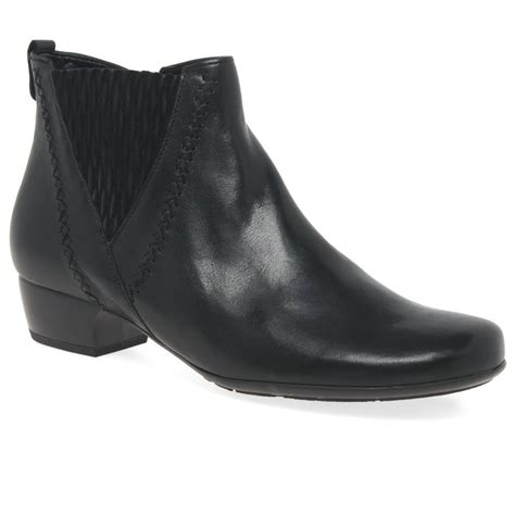gabor betide womens modern wide fit ankle boots charles