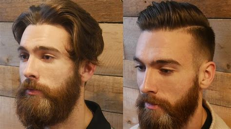 old men make overs extreme modern hair beard makeover transformation men