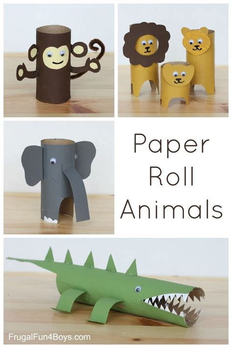 Toilet Paper Roll Crafts Animals - 1000 ideas about animal crafts on paper roll