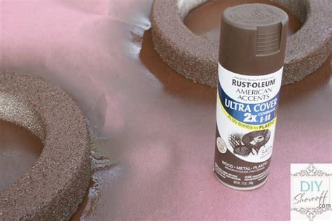 spray painting foam styrofoam convex mirror tutorial diy show diy