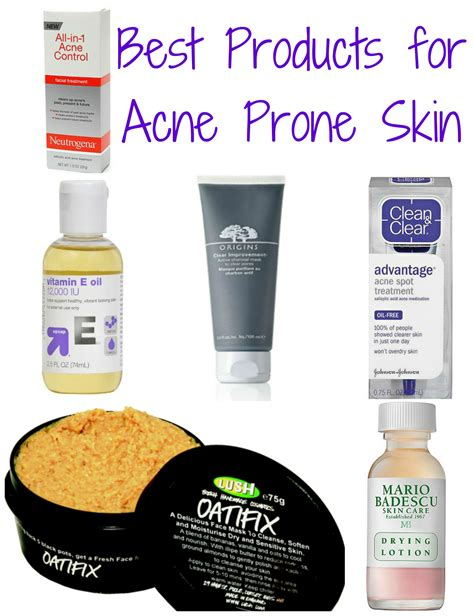 Top 8 Acne Products For by Best Products For Acne Prone Skin