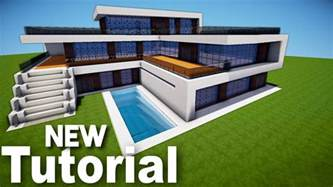 minecraft how to build a realistic modern house best