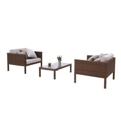 chat set patio furniture mindo luxury conversation sets wicker chat sets horizon 3 modern wicker chat set