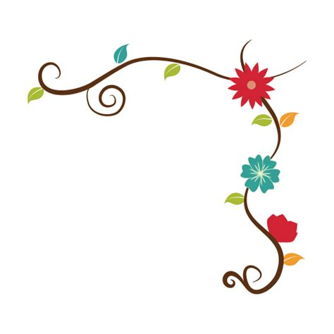 decorative flower border designs flower decorative border vector icons by canva