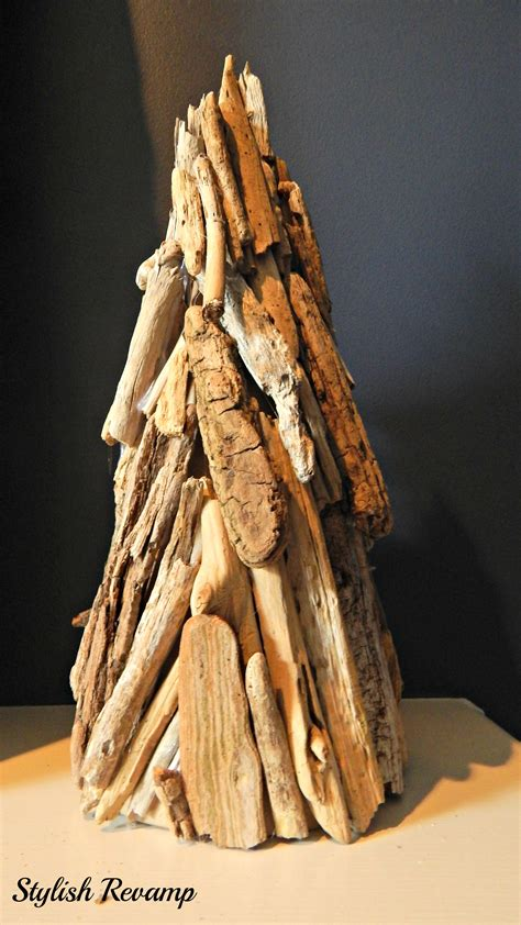 driftwood christmas tree stylish rev