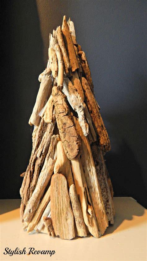 driftwood christmas tree stylish rev