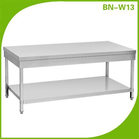 stainless steel kitchen work table island greenvirals style