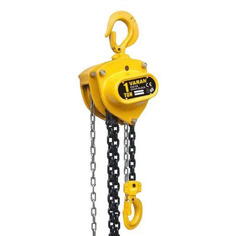 Heavy Duty Chain Block 3 Ton X 5 0m Krisbow Kw0501395 varan motors 1 ton mechanics chain lift block hoist engine tackle heavy duty lifting pulley