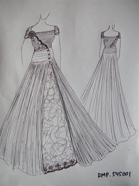 sketsa desain baju pesta by adhinatalia payet gaun pesta mejor conjunto de frases