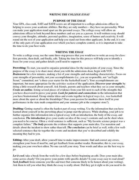 School Essay Writing by Awesome College Essays Sles Resume Daily