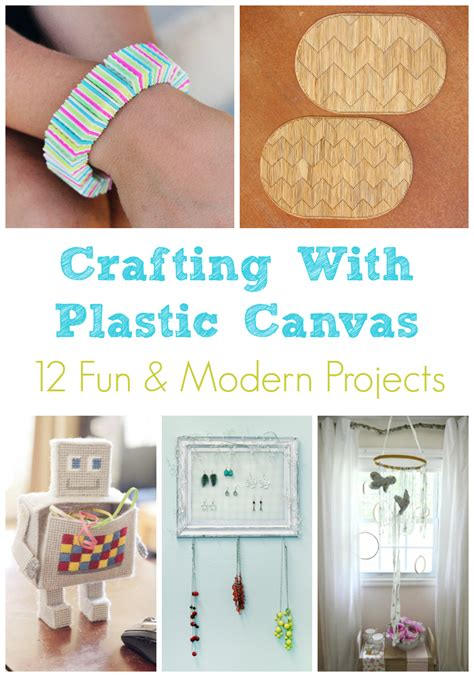 canvas craft ideas for plastic canvas roundup 12 modern craft ideas