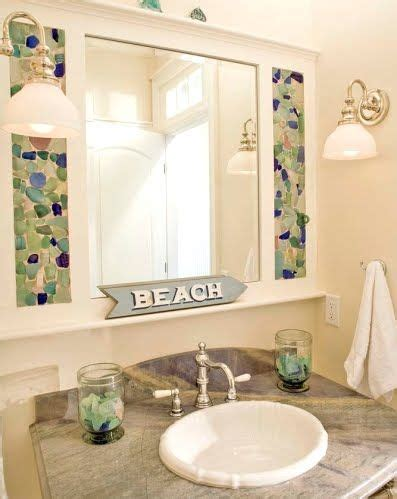 sea glass bathroom ideas stunning sea glass mosaic diy ideas bathroom ideas