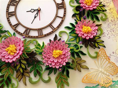 quilling clock tutorial 17 best images about crafting quilling on pinterest