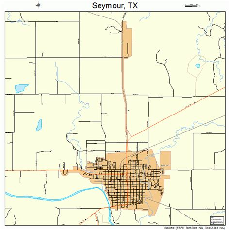 seymour texas map seymour texas map 4866968