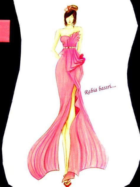 fashion illustration by fashion designers fashion illustration rabia bassri fashion designer