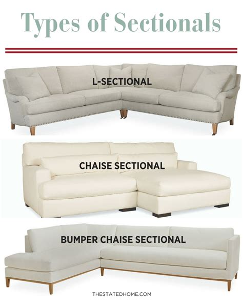 different types of sofas types of sectional sofas sectional sofas types of
