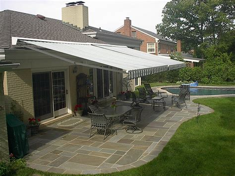 retractable awning for deck sunair 174 retractable awnings maryland best deck patio