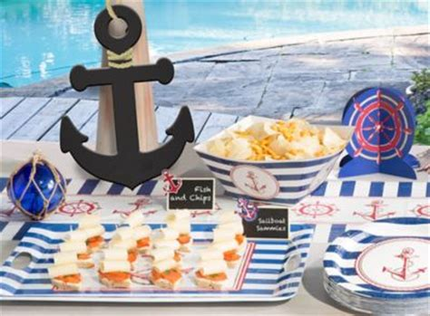 row your boat fish bar menu party ideas birthday ideas holiday baby shower more