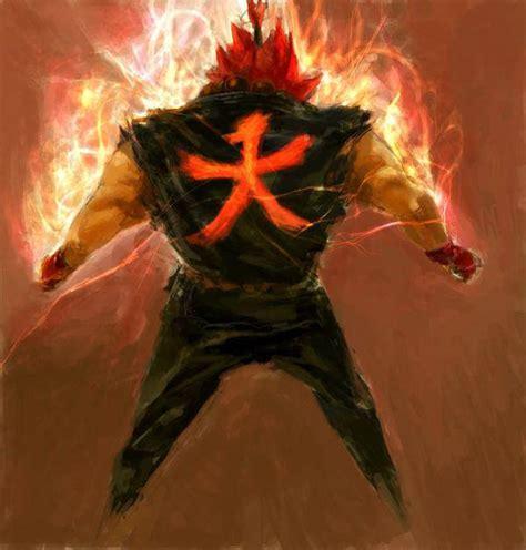 Fighter Akuma Black tribute to fighter 60 beautiful artworks hongkiat