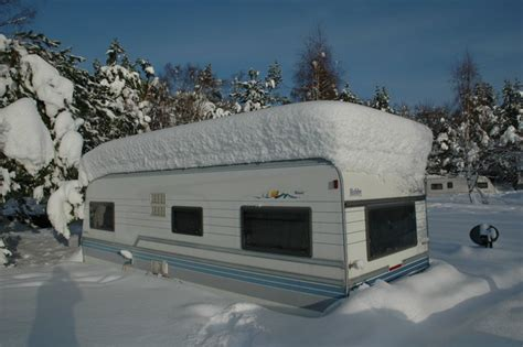 Inflatable Motorhome Awning Get Your Caravan Ready For Winter World Of Camping Blog