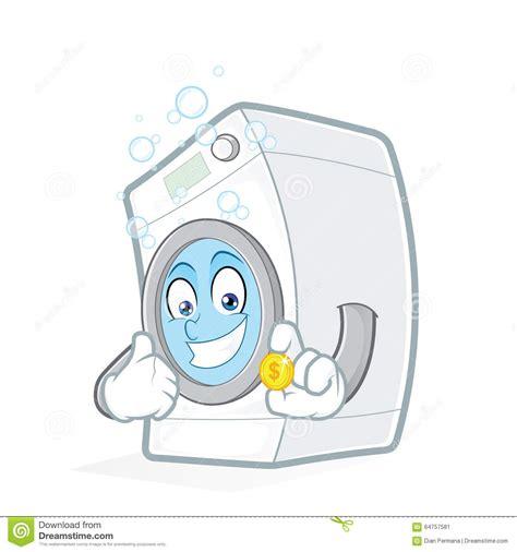tarjetas electronicas de lavadoras waschmaschine die eine m 252 nze h 228 lt vektor abbildung bild