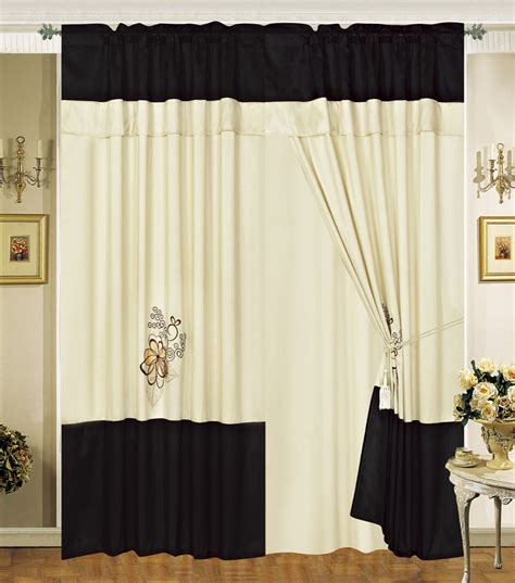 Black And Beige Curtains Black And Beige Curtains