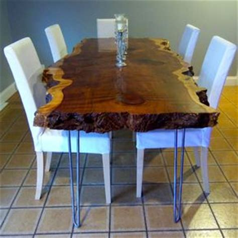 live edge wood furniture custommade