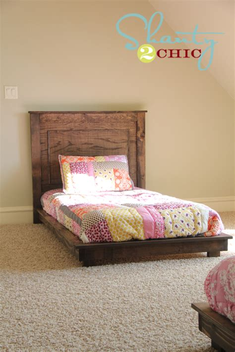 how to make a twin headboard diy pottery barn inspired fillman twin headboard shanty