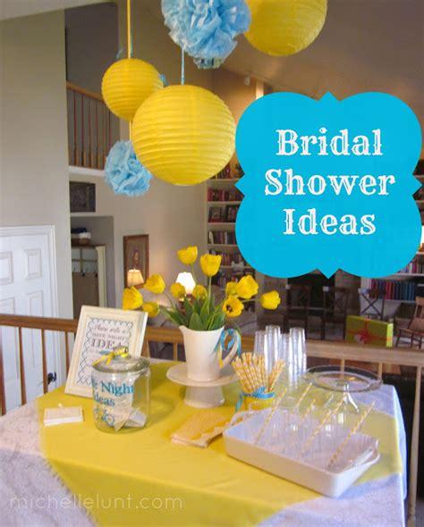 honey i m home 5 tips for hosting a bridal shower