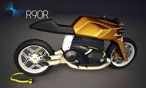 bmw bike concept wordlesstech bmw r90r concept bike