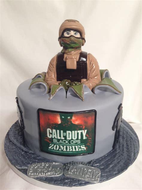 Call Of Duty D Fondant Cake A Sweet Design