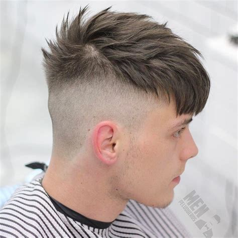 cortes para hombre 2017 barber shop 17 mejores ideas sobre corte de pelo fade para hombres en