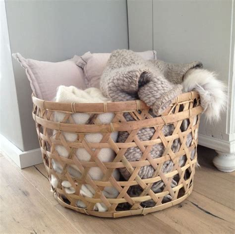 large basket for storing throw pillows best 25 blanket basket ideas on pinterest blanket