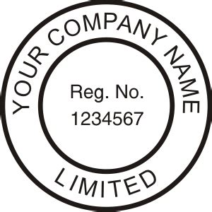 company seal st template company seal press custom rubber st
