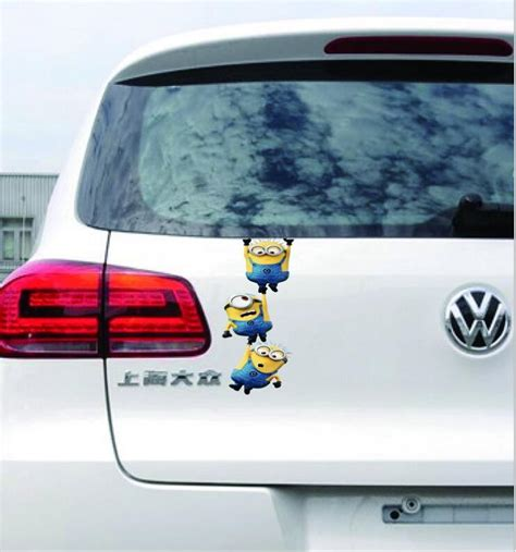 Minion Aufkleber Auto by Cute 3d Despicable Me Minions Car Stickers Car Styling