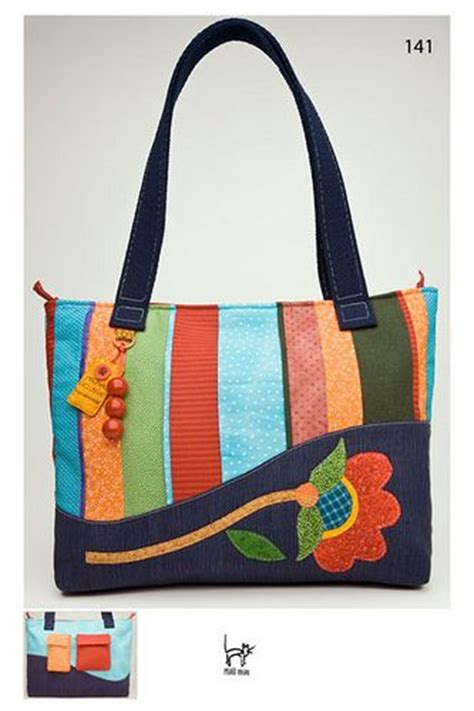 Handmade Purse Ideas - handmade cloth bag patterns craft ideas