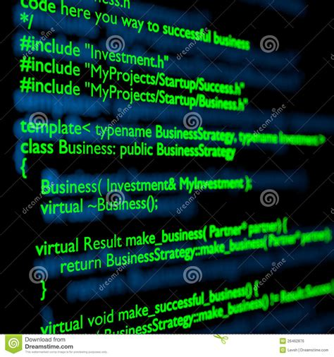3d Sketch Programs c code royalty free stock image image 26462876