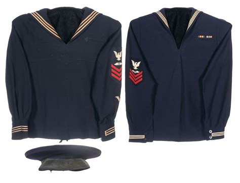 Jumper Sailor two scarce u s navy aviation jumpers and sailor cap