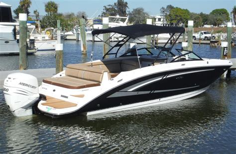 sea ray boats with outboards 2016 sea ray 270 sundeck outboard boat for sale at
